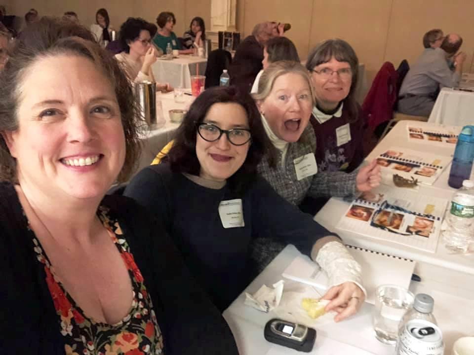 Janet, Sadie, Kathryn, Donna & Dr. Sparaga Oral Pathology & Oral Medicine Clinical Update in Bangor ME