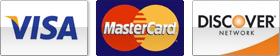 visa mastercard discover credit cards